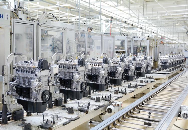 Engine Production Plant