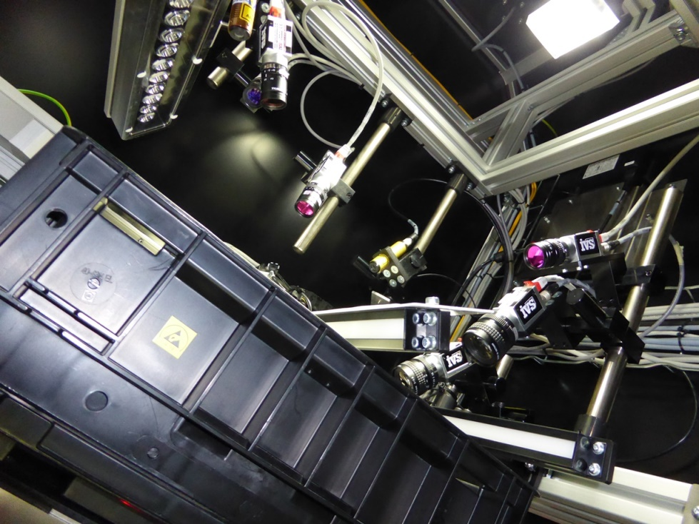 Automated vision inspection machine